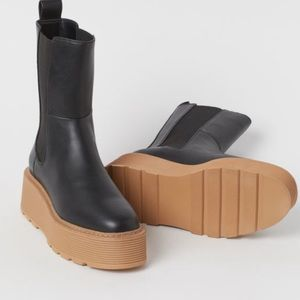 H&M High Profile Chelsea Boots size 38